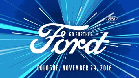 "Ford løfter sløret for ny Fiesta ved ""Go Further"" event den 29. november 2016"