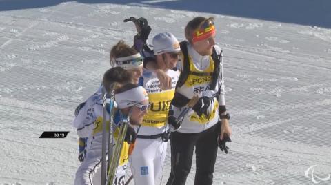 Helene Ripa och Zebastian Modin tar VM-silver i stafett