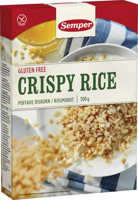 Semper gluteenittomat Riisimurot