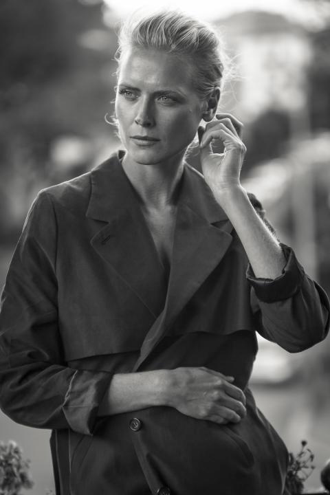 Portrett av Synnøve Macody Lund - Foto: Carl Christian Raabe