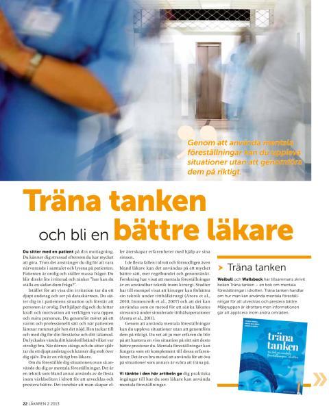 Träna tanken och bli en bättre läkare