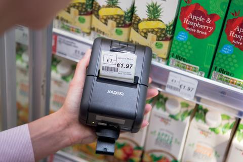 RJ-2150 en supermercado