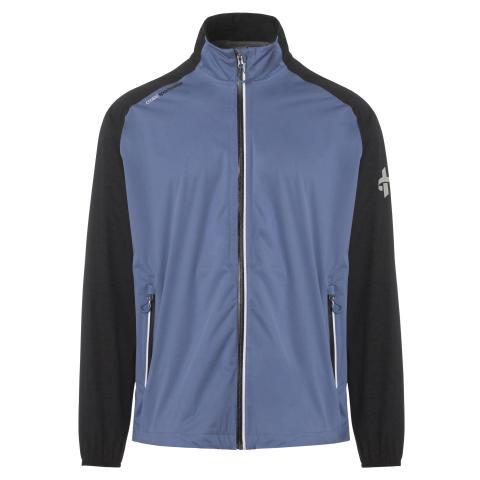 M Hurricane Jacket Bijou Blue Front - Cross Sportswear