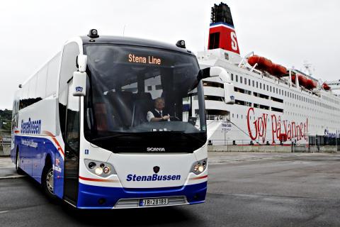 StenaBussen guld värd för Stena Line