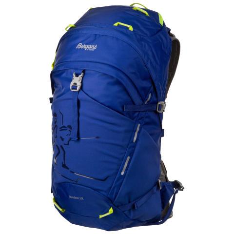 Rondane 30 L - Blue/Neon Green