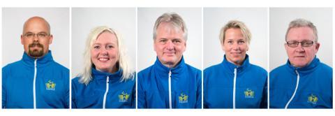 Fem paralympier namngivna och ett lag klart för Sotji