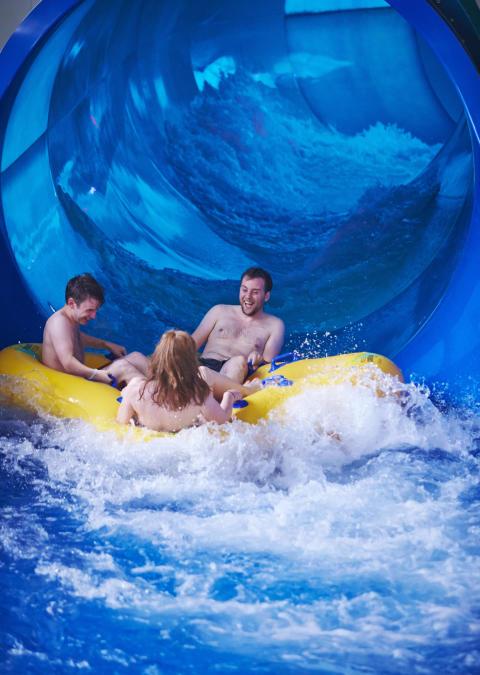 Tropical Cyclone water ride