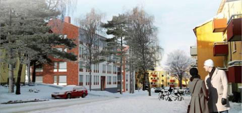 Planer på nya bostäder i Tallkrogen