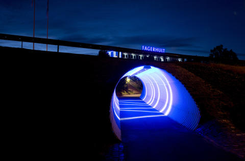 Outdoor Tunnel Lighting