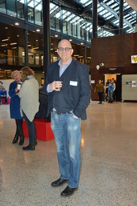 Eiendomskonsulent Finn Einar Steen i Undervisningsbygg har arbeidet med å kartlegge tilstand for universell utforming ved alle Osloskolene.