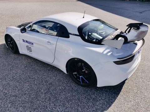 OTTO Racing i Alpine A110 GT4