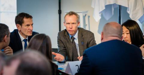StegVis 3 februari 2016, Johan Rockström