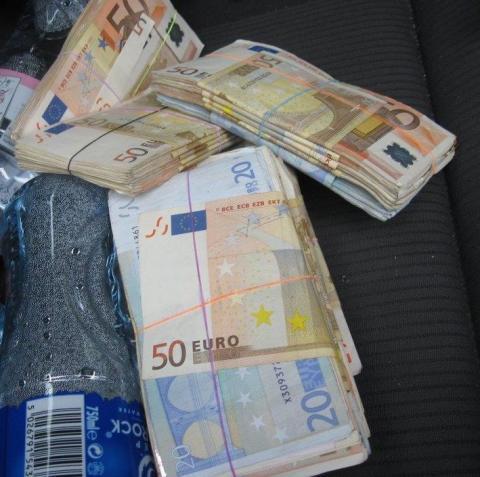 Cash stash man jailed