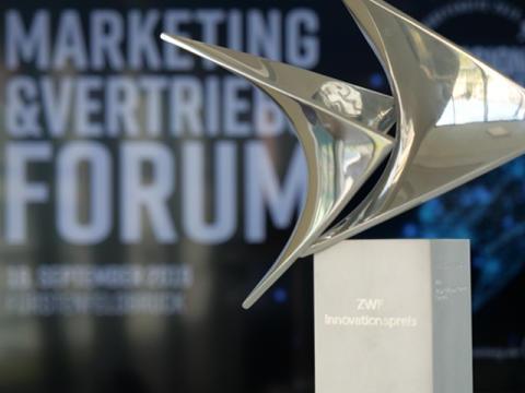 GVB zeichnet Volksbank Raiffeisenbank Rosenheim-Chiemsee mit dem Innovationspreis 2019 aus