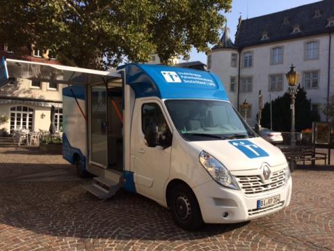 Beratungsmobil der Unabhängigen Patientenberatung kommt am 18. Oktober nach Bad Mergentheim.