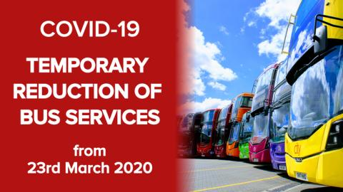 BUS OPERATORS REVIEW SERVICES TO ADAPT TO PASSENGER DEMAND AMID COVID-19 CRISIS