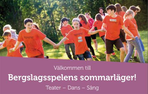 Bergslagsspelen anordnar sommarläger för barn