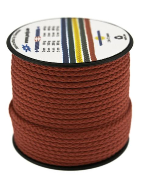 Poly-Light-8 röd, 3 mm x 25 m, spole