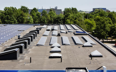 Goda exempel på solceller i Fosie, Malmö