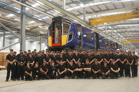Hitachi team building new trains for Abellio ScotRail