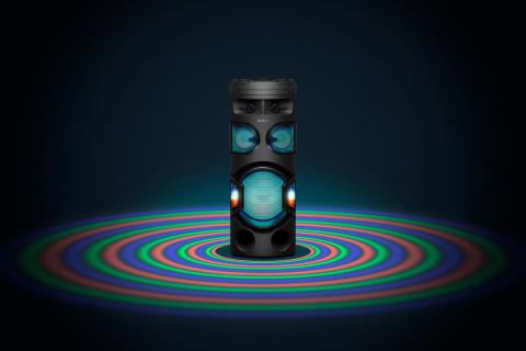 Организирайте партито на годината с новите мощни аудио системи от Sony