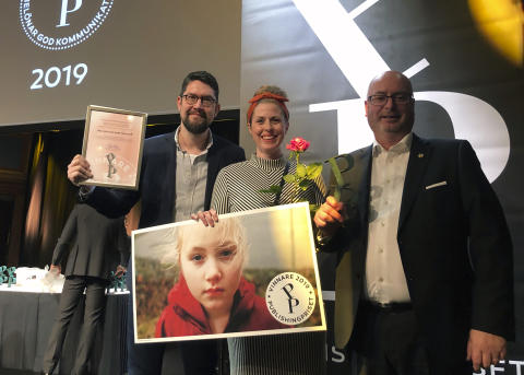 Infab stolt vinnare av Publishingpriset