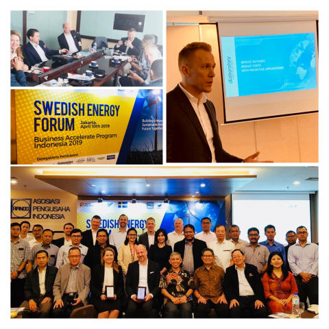 dLab with Swedish trade delegation meeting customers and partners in Indonesia