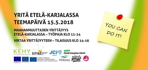 Yritä Etelä-Karjalassa -teemapäivä (aamu)