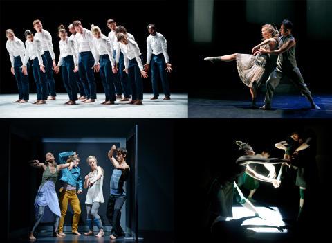 Fem dansverk från fem kompanier avslutar säsongen