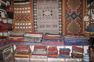 A typical carpet shop