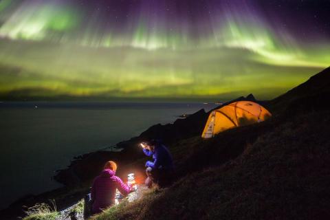 Norrskensturismen ökar i Nordnorge
