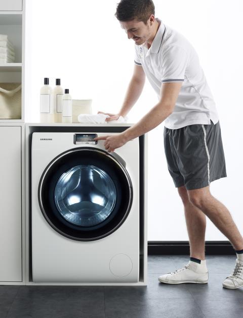 Samsungin älykäs pyykinpesukone on nyt kaupoissa