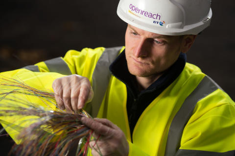 Fibre broadband roll-out in Skye