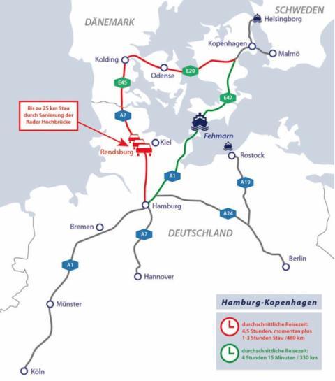 Scandlines: Der schnellste und komfortabelste Weg in den Norden