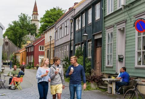 Der Stadtteil Bakklandet