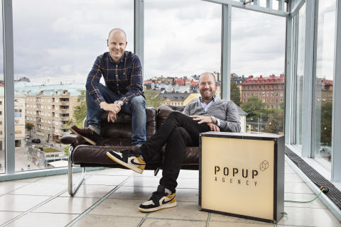Grundarna av Popup Agency