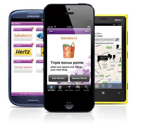 Nectar innovates app by adding location based technology
