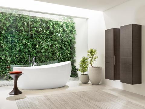 Villeroy & Boch invite la nature dans la salle de bains  Des aménagements de salle de bains à la beauté naturelle