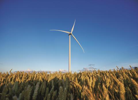 Vindkraftverk från Siemens