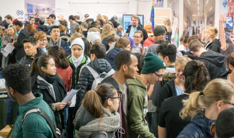 Nöjda utställare och projektledare efter stark första vecka på Nolia Karriär