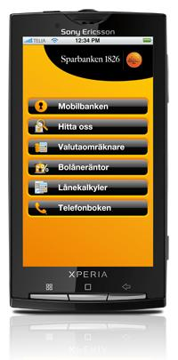 Sparbanken 1826 lanserar Android-applikation