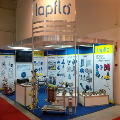 ​Tapflo Bulgaria exhibits at World of Milk 2017 -Sofia | Bulgaria
