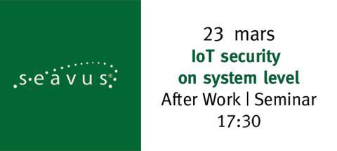 Internet of things (IoT) och säkerhet i inbyggda system!