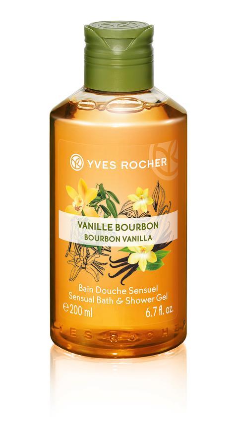 Bourbon Vanilla Sensual Bath & Shower Gel