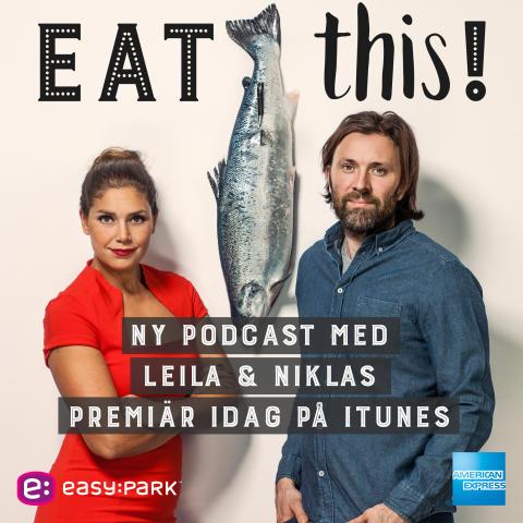 EasyPark sponsrar ny podcast av Niklas Ekstedt och Leila Lindholm