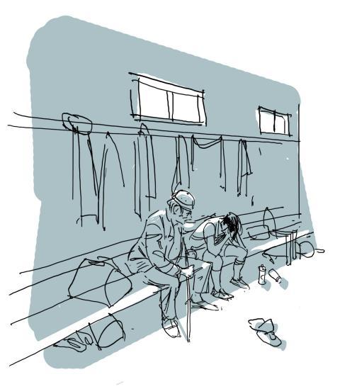 Direkte rødt - illustrasjon av Oscar Jansen
