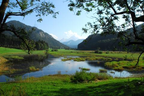 Biosphärenregion Berchtesgadener Land i Bayern