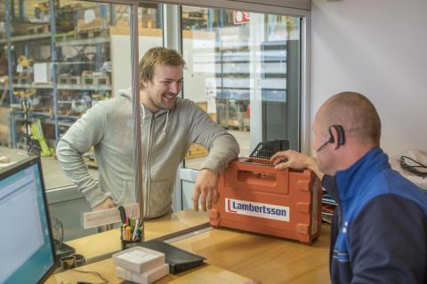 Lambertsson öppnar sin 4:e depå i Göteborg