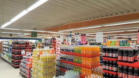 COMA Idestrup LED belysning - øl & vand
