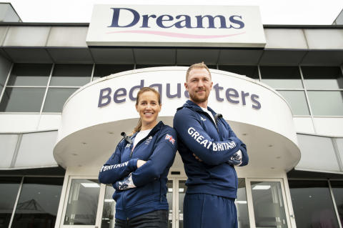 Team GB Confirms Partnership With Dreams